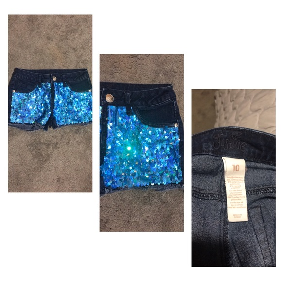 Justice Other - Girls JUSTICE Sequin Shorts